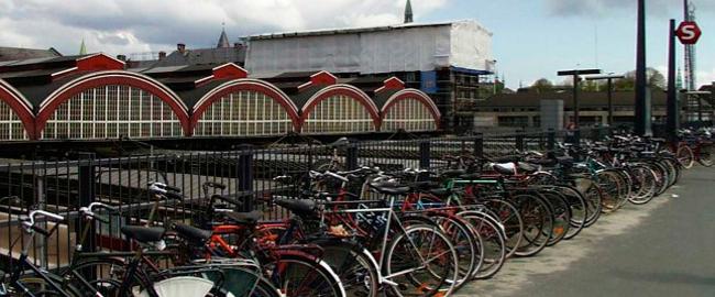 Vélo au Danemark en 2000