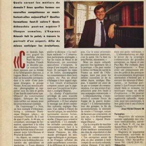 1990 DD Ethnomarketeur L'Express - Copie (2)